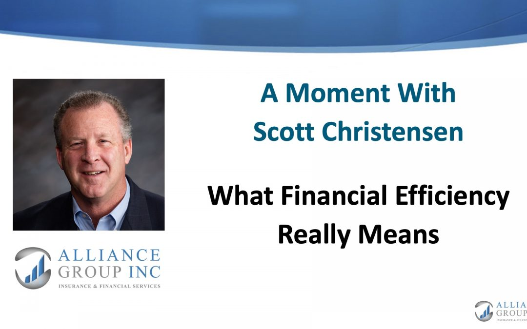 What Financial Efficiency Really Means