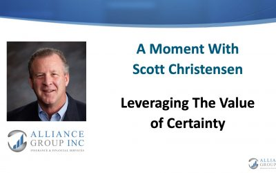 Leveraging The Value of Certainty